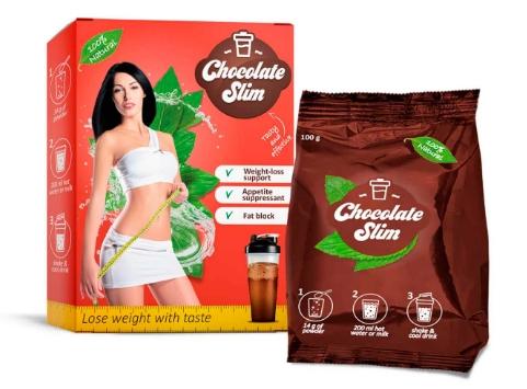 Chocolate Slim i raduj się doskonałym smakiem ukochanej czekolady i równolegle spalaj tłuszcz.